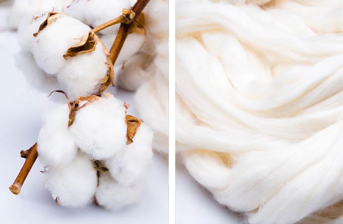 i cotoni di albini materie prime